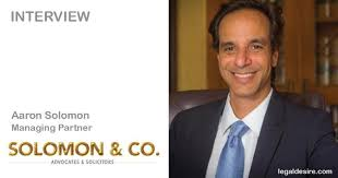 In conversation with Aaron Solomon, Managing Partner of Solomon & Co
